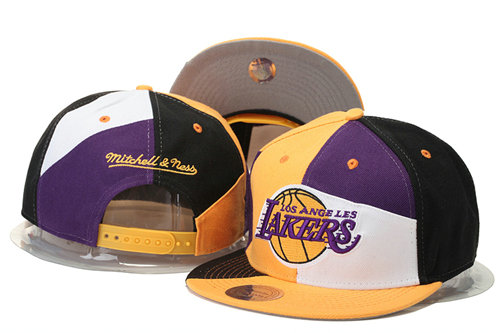 Los Angeles Lakers Snapback Hat 1 GS 0620